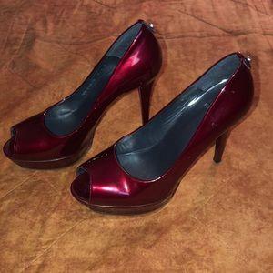 Stuart Weitzman Shoes Candy Apple Heels 9.5 $248